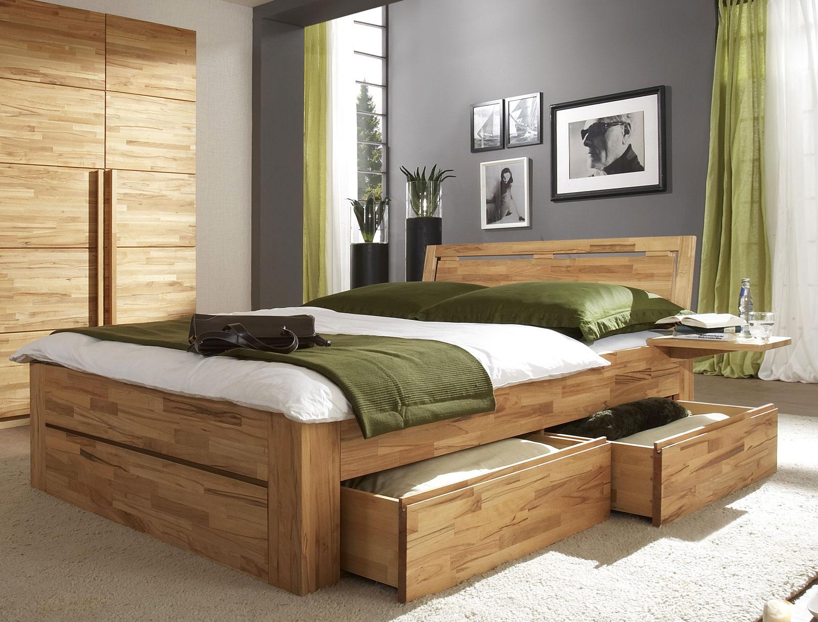 Bett Mit Stauraum schubkastenbett mit zusätzlichem stauraum bett andalucia