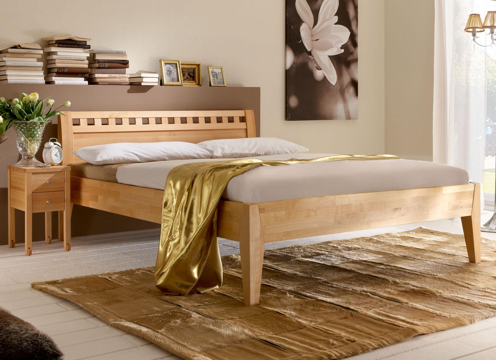 Inspirierend Bett Akazie Sammlung Von Bett Idee