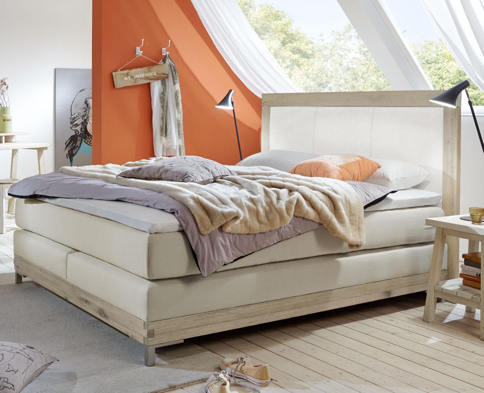boxspringbett mit 7 zonen tonnentaschenfederkern arezzino. Black Bedroom Furniture Sets. Home Design Ideas