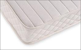 Naturlatex-Matratze Samar Comfort mit Comfort-Bezug