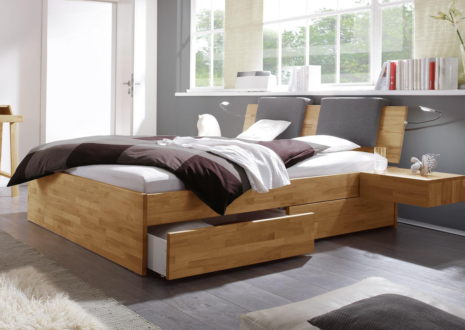 Bett Mit Schubkästen Für Zusätzlichen Stauraum