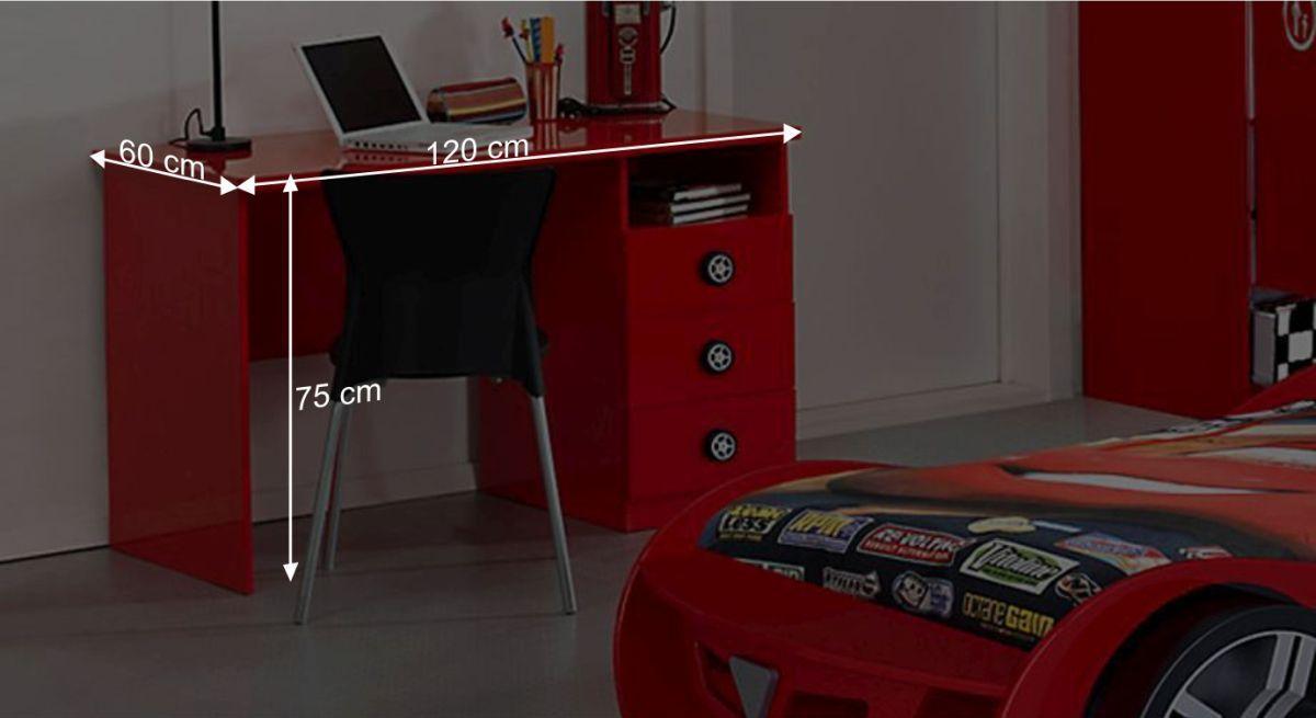 Schreibtisch Tunings Bemaßungsgrafik