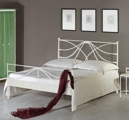 Geschmiedetes Bett Arica aus stabilem Metall