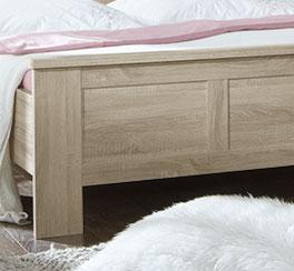 Bett Farim mit hochwertigem Fußteil
