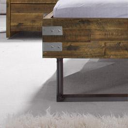 Metall-Fußteil vom Bett Konna