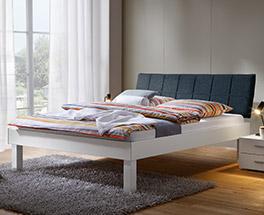Modernes Bett Sierra mit Komforthöhe
