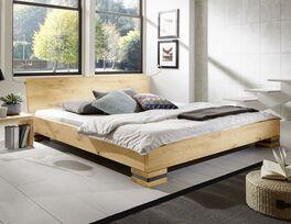 Bett Sillaro aus Wildeiche-Massivholz online kaufen