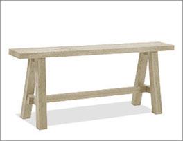 Bettbank Boneda aus hochwertigem Massivholz
