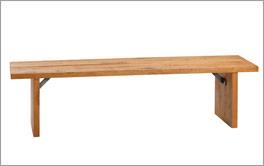 Bettbank Santar aus hochwertigem Massivholz