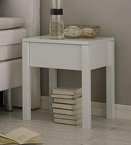 Buche Nachttisch Berea mit einer Schublade