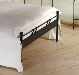 Hochwertiges Designerbett Vella mit optionalem Fußteil