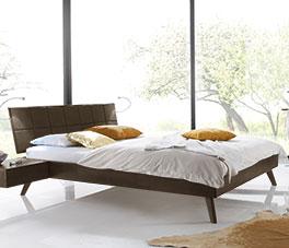 Modernes Doppelbett Andros in 160x200 cm