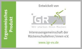 Ergonomische Matratze mit IGR-Siegel