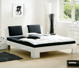 Hochwertiges und stilvolles Bett Alamito