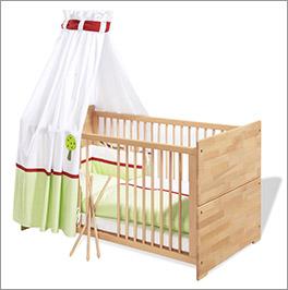 Kinderbett Natura aus stabilem Holz