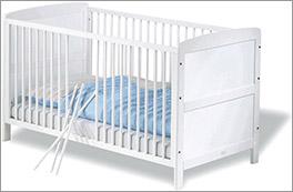 Günstiges Kinderbett Viktoria in Weiß