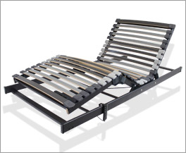 Lattenrost orthowell ultraflex XXL motor ist bis zu 160 kg belastbar