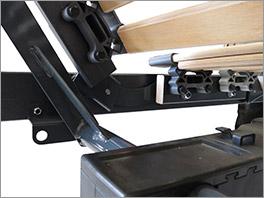 Stabiler Komfort-Lattenrost orthowell ultraflex XXXL motor
