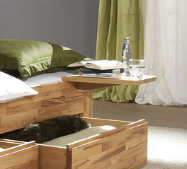 Optional bestellbarer Nachttisch zu Liege Andalucia