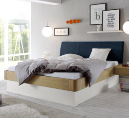 Luxusbett Majuro aus hochwertigen Materialien