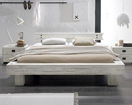 Massivholz-Bett Buena in 180x200 cm