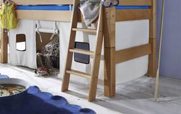 Mini-Hochbett Kids Fantasy mit stabiler und komfortabler Leiter