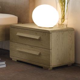 Nachttisch Banco mit leichtgängigen Schubladen