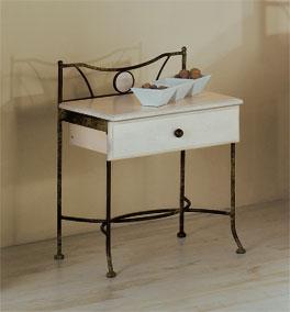 Nachttisch Lavia mit Schublade für zusätzlichen Stauraum