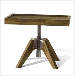 Nachttisch Molina mit praktischer Höhenverstellung