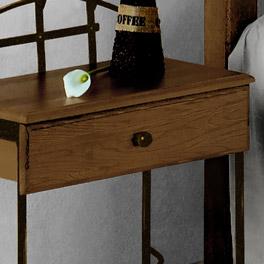 Nachttisch Sinja mit praktischer Schublade