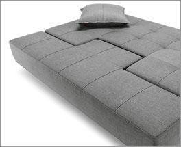 Multifunktionales Schlafsofa und Doppelbett Ross