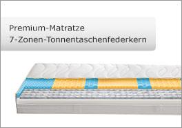 7 Zonen TTF Premium-Matratze
