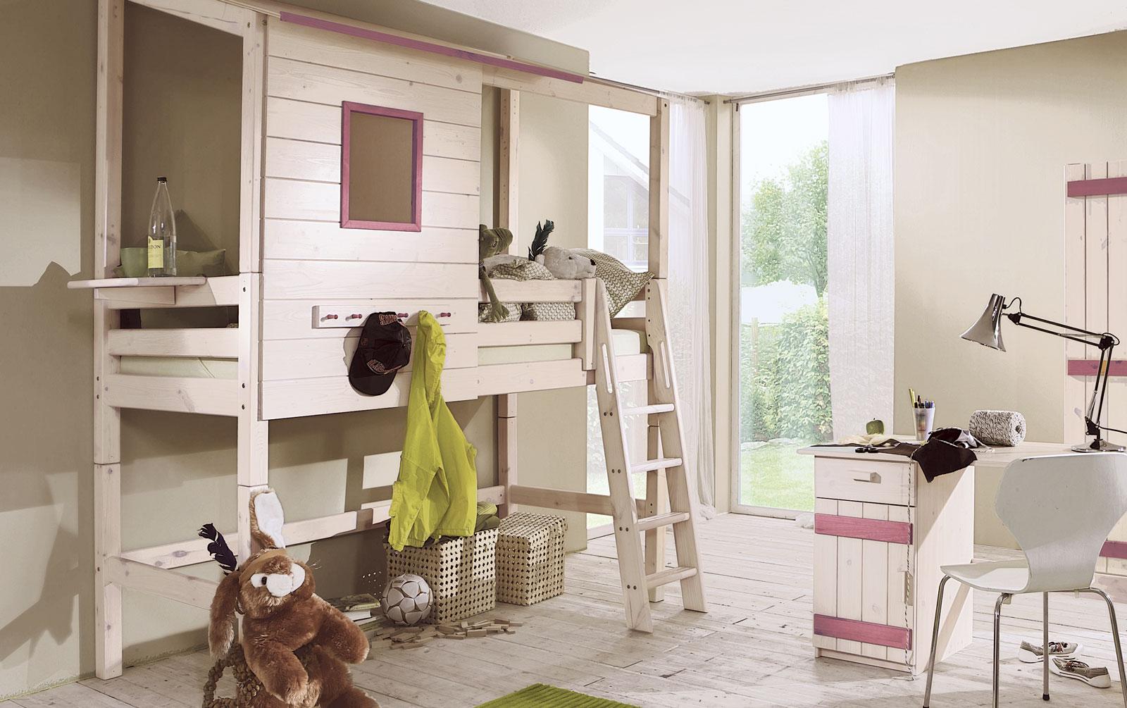 Abenteuerbett als Hochbett Kids Paradise für Ihr Kinderzimmer