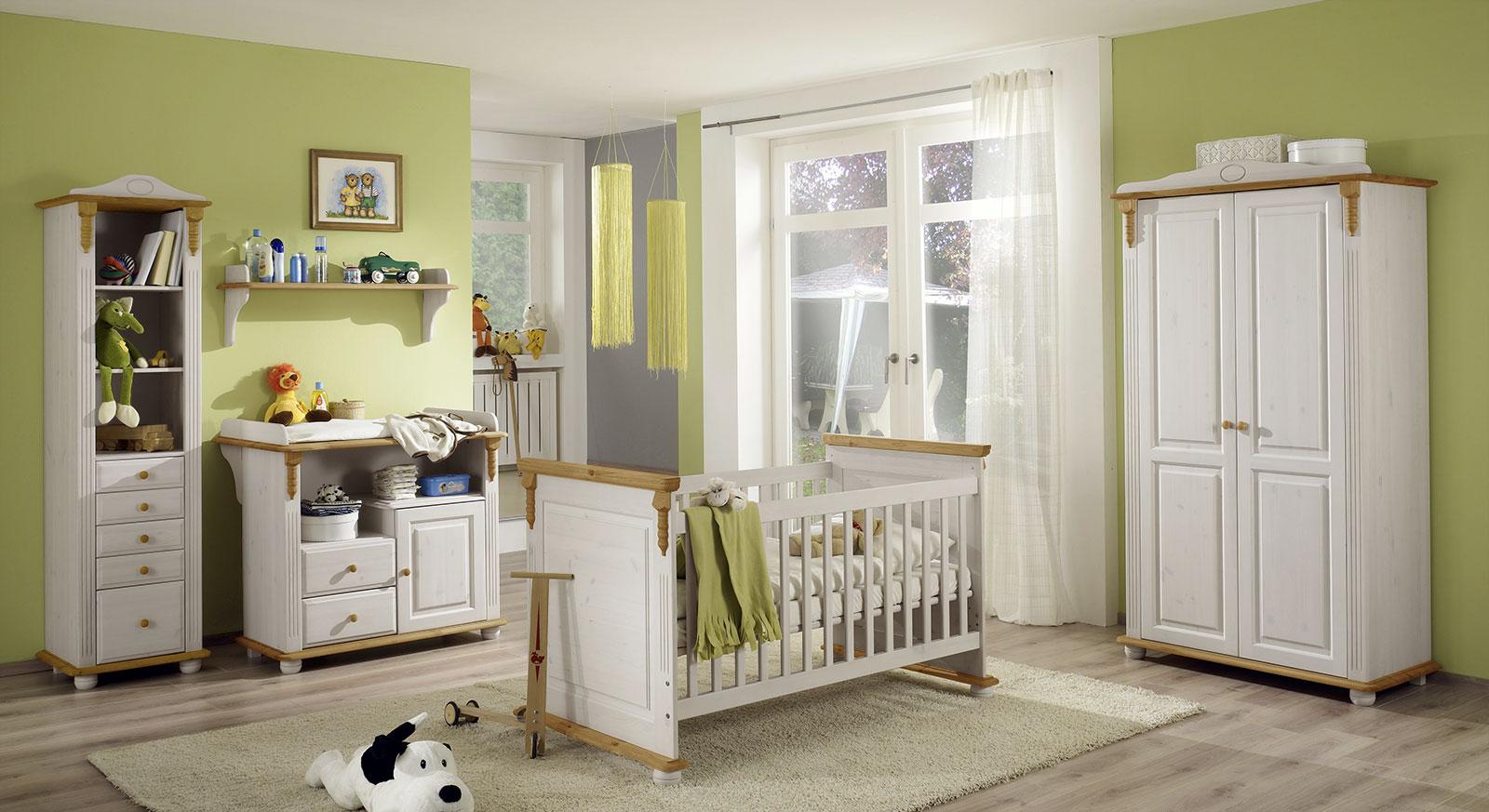 Babyzimmer Countryside mit passendem Zubehör
