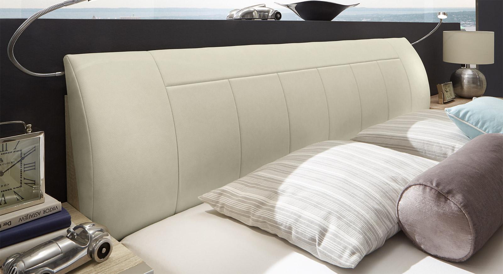 doppelbett in eiche hell s gerau g nstig kaufen banga. Black Bedroom Furniture Sets. Home Design Ideas