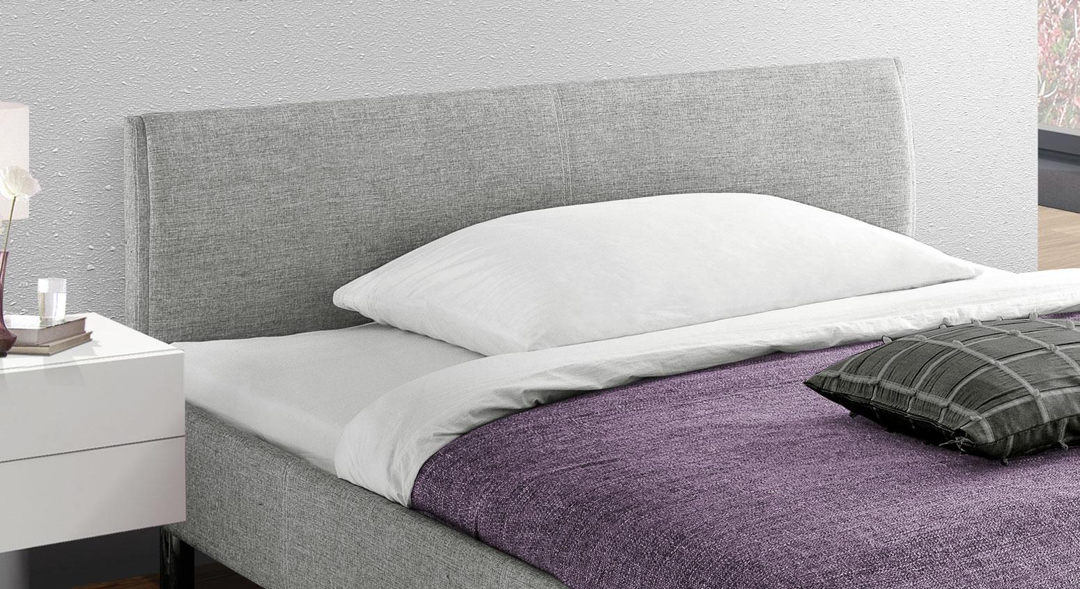 Bett Gravelines mit gepolstertem und bequemem Kopfteil