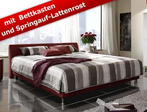 moderne kunstlederbetten auf rechnung oder raten kaufen. Black Bedroom Furniture Sets. Home Design Ideas