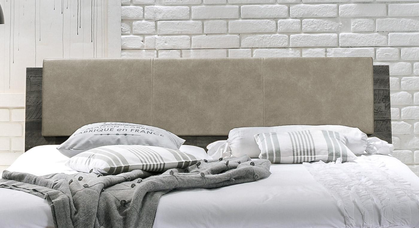Kopfteil vom Bett Paraiso aus Holz