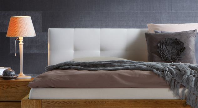 Bett Rückwand doppelbett mit kopfteil dekoration ideen