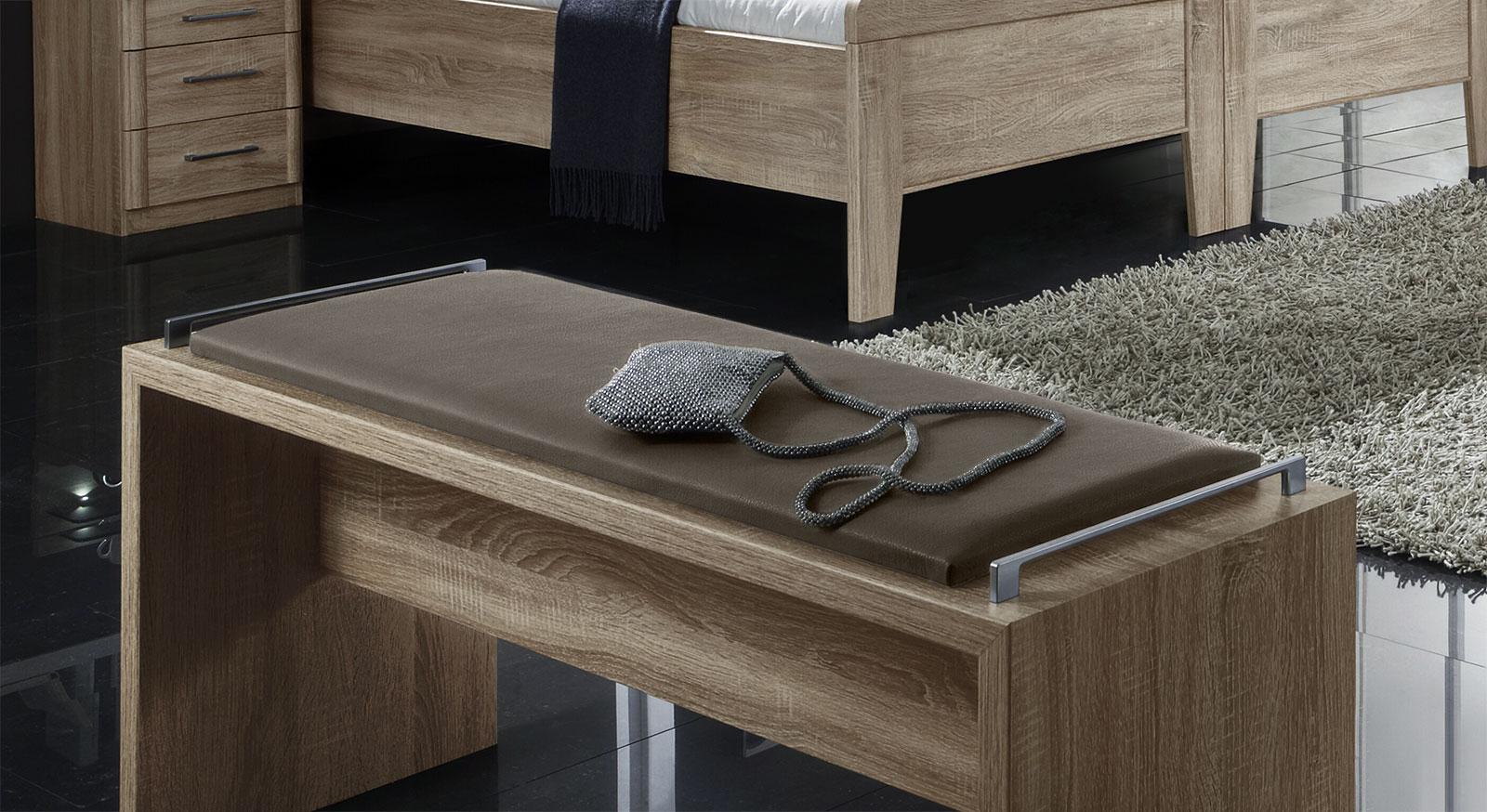 Bettbank Runcorn aus Dekor in Eiche sägerau