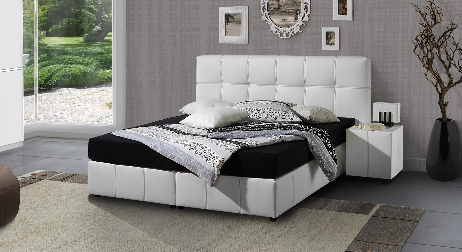 Schwarz Bett 140x200 Preisvergleich Die Besten Angebote Online Kaufen