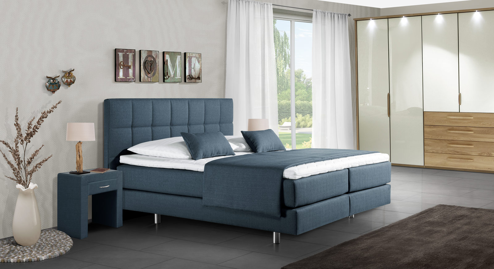 komplett schlafzimmer in italienischem design bologna. Black Bedroom Furniture Sets. Home Design Ideas