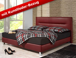 Boxspringbett Parga mit innovativem Design