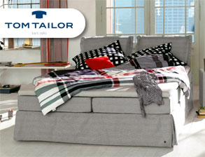 Boxspringbett Tom Tailor Cushion inklusive Volant