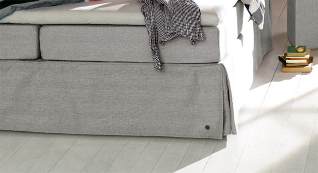 Volant-Stoff vom Boxspringbett Tom Tailor Cushion