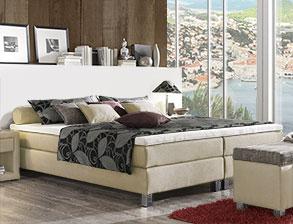 boxspringbetten ohne kopfteil g nstig kaufen. Black Bedroom Furniture Sets. Home Design Ideas
