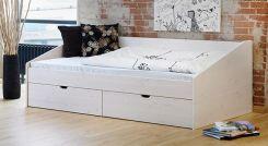 schubkasten doppelbett aus buche oder kiefer bett norwegen. Black Bedroom Furniture Sets. Home Design Ideas