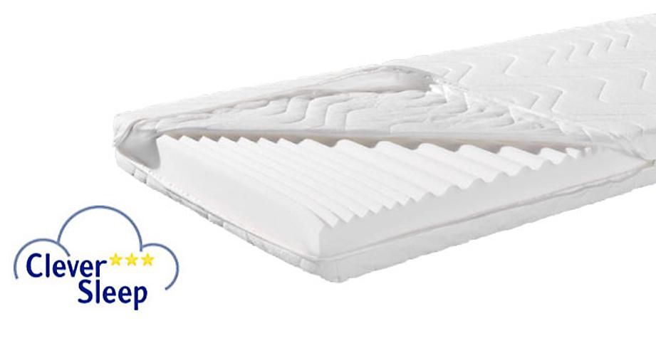 Kaltschaum-Matratze Clever Sleep Standard Kern