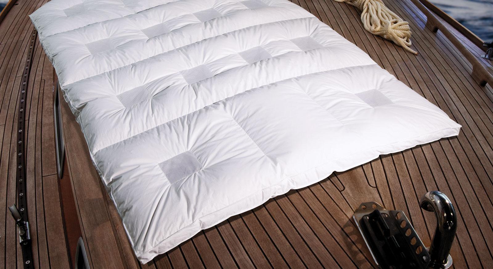 Daunen Bettdecke Clima Balance Comfort Warm Größen
