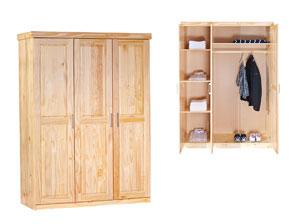 g nstiges komplett schlafzimmer aus kiefer oslo. Black Bedroom Furniture Sets. Home Design Ideas
